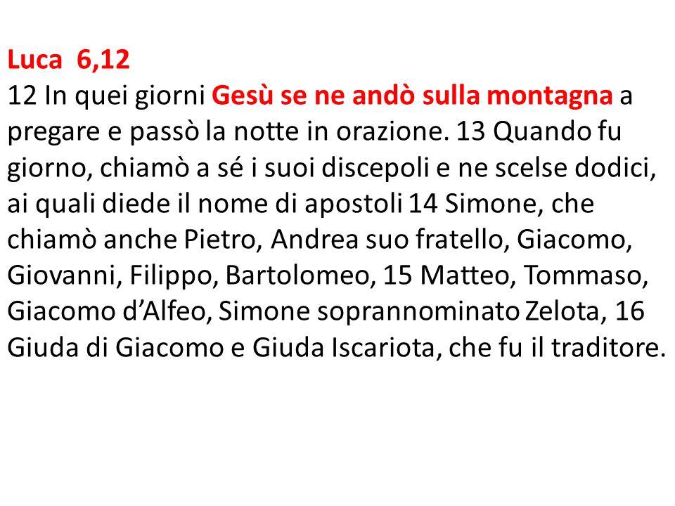 Luca 6,12