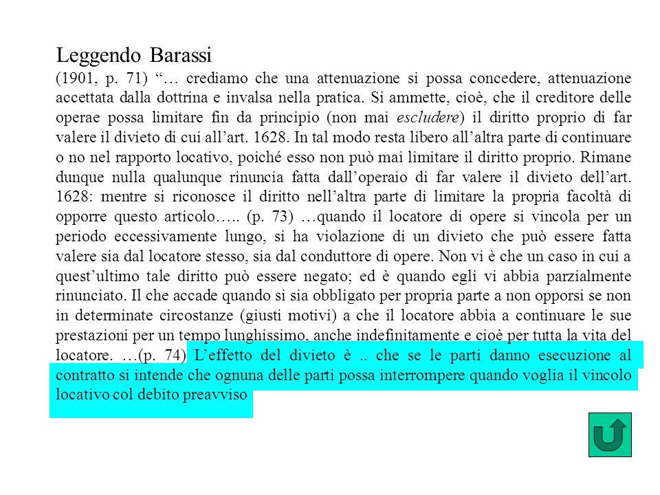Leggendo Barassi