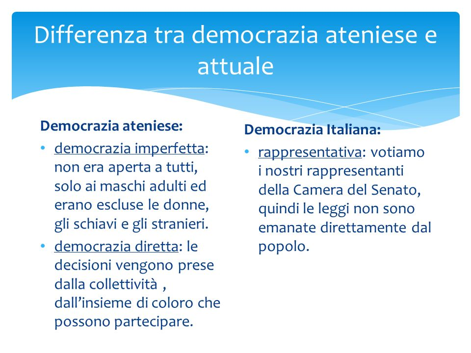 La democrazia ppt video online scaricare for Differenza tra camera e senato