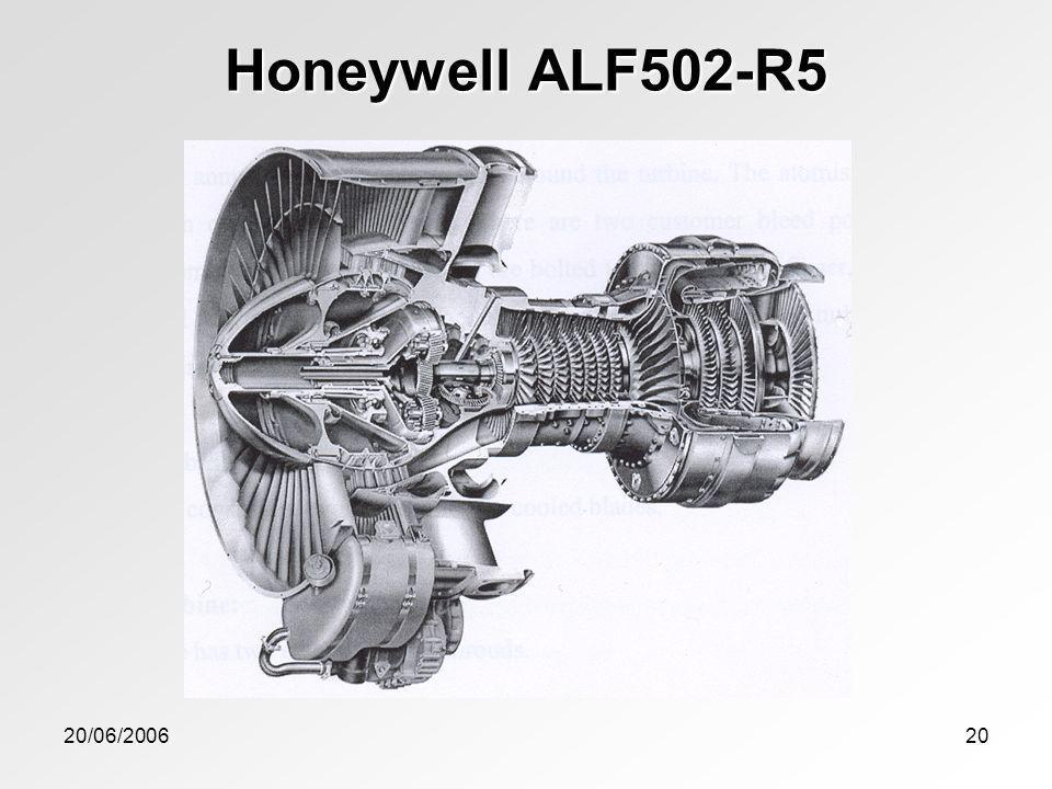 Honeywell ALF502-R5 20/06/2006