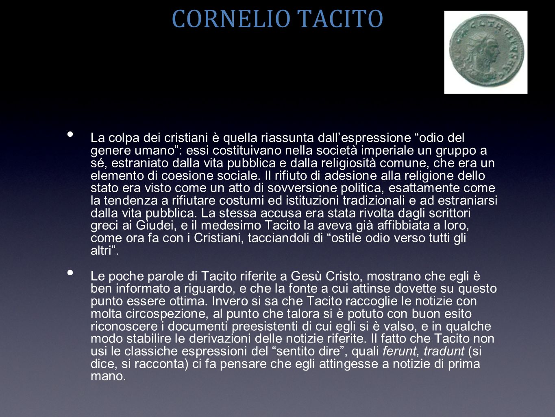 CORNELIO TACITO