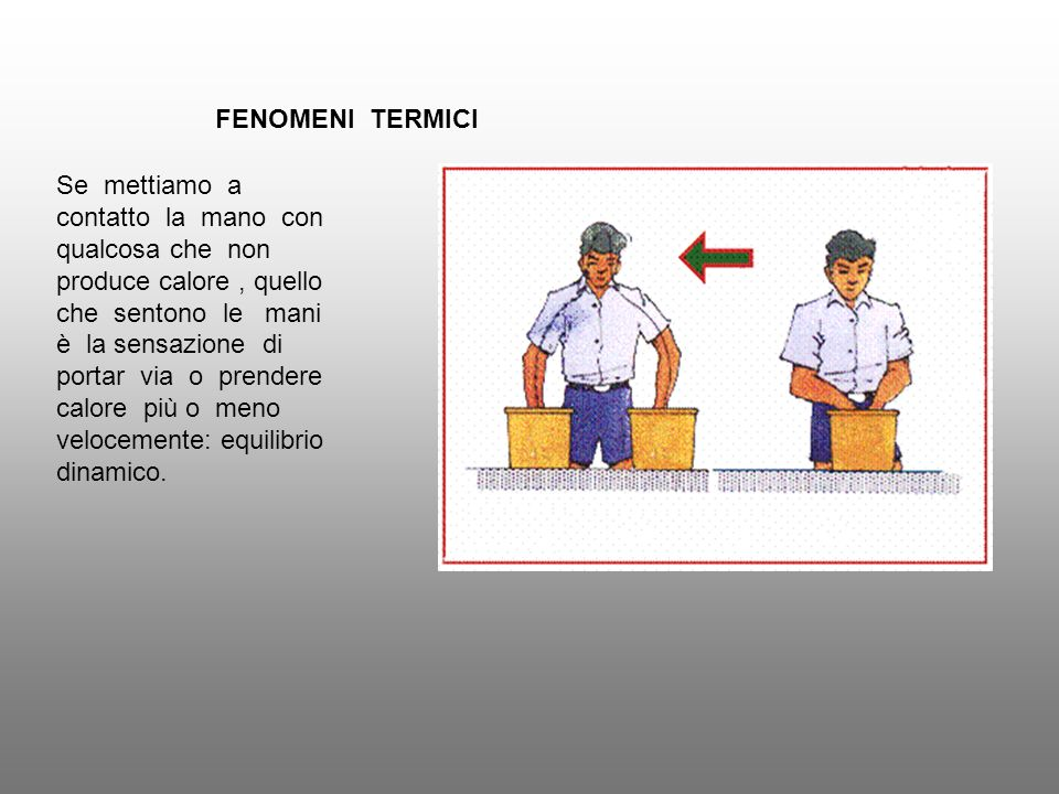 FENOMENI TERMICI