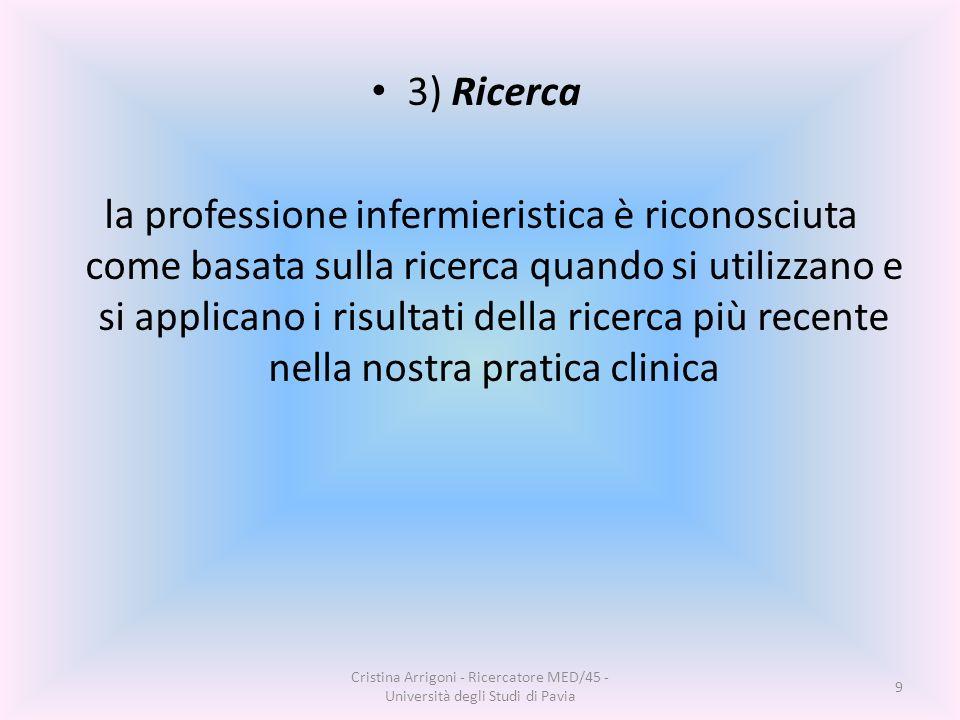 3) Ricerca