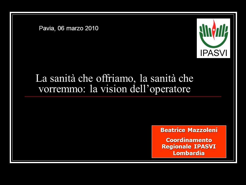 Coordinamento Regionale IPASVI Lombardia