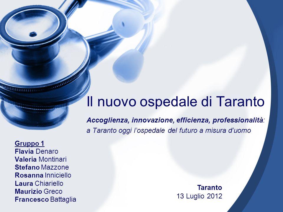 Il nuovo ospedale di Taranto