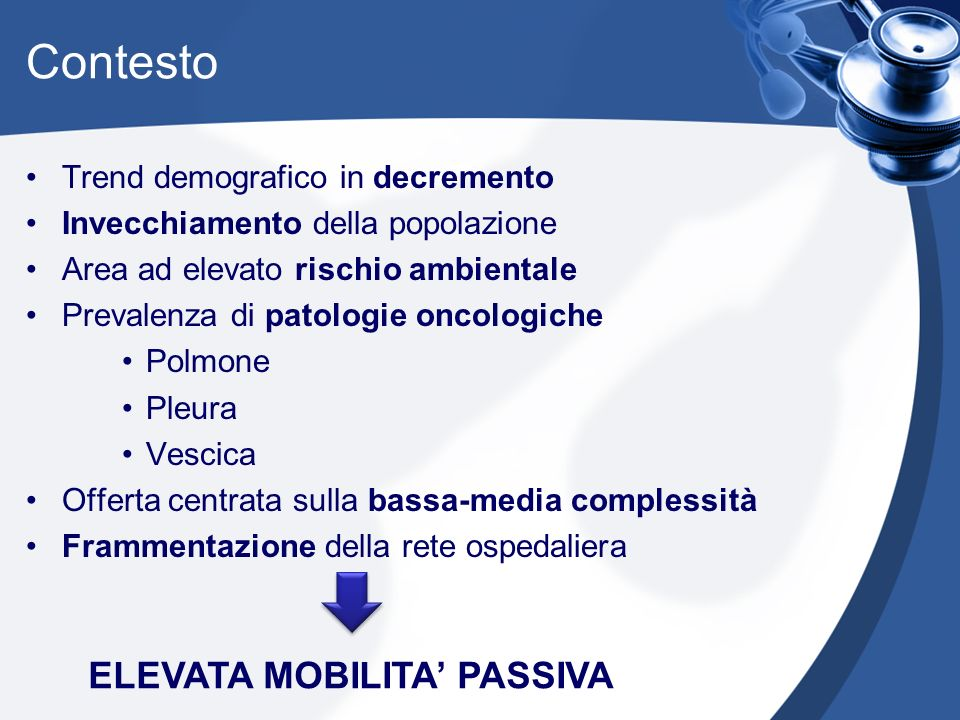 ELEVATA MOBILITA' PASSIVA
