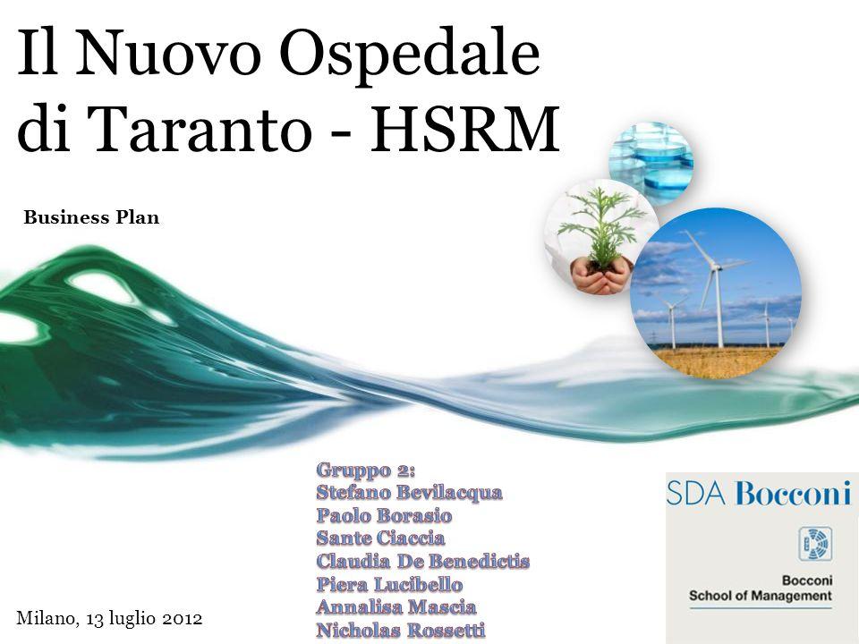 Il Nuovo Ospedale di Taranto - HSRM