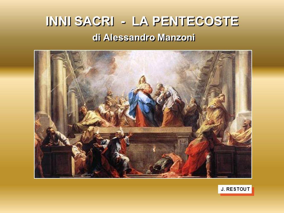 INNI SACRI - LA PENTECOSTE di Alessandro Manzoni