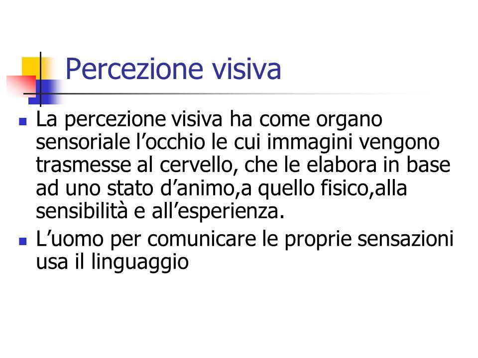 Percezione visiva