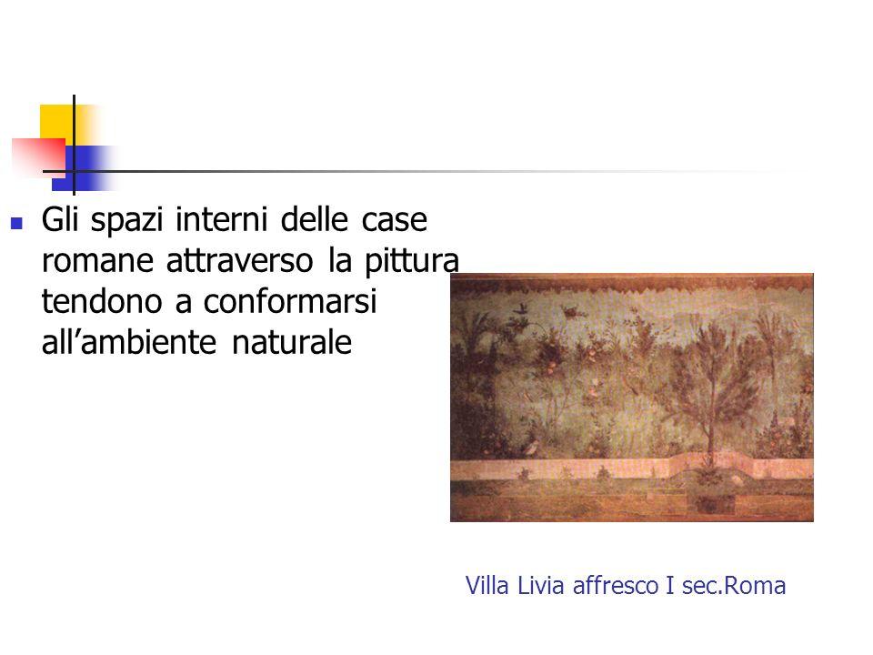 Villa Livia affresco I sec.Roma