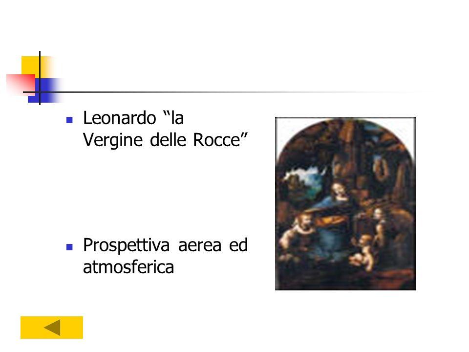 Leonardo la Vergine delle Rocce