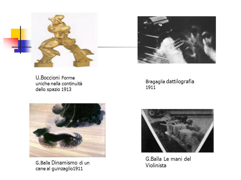 U.Boccioni Forme uniche nella continuità dello spazio 1913