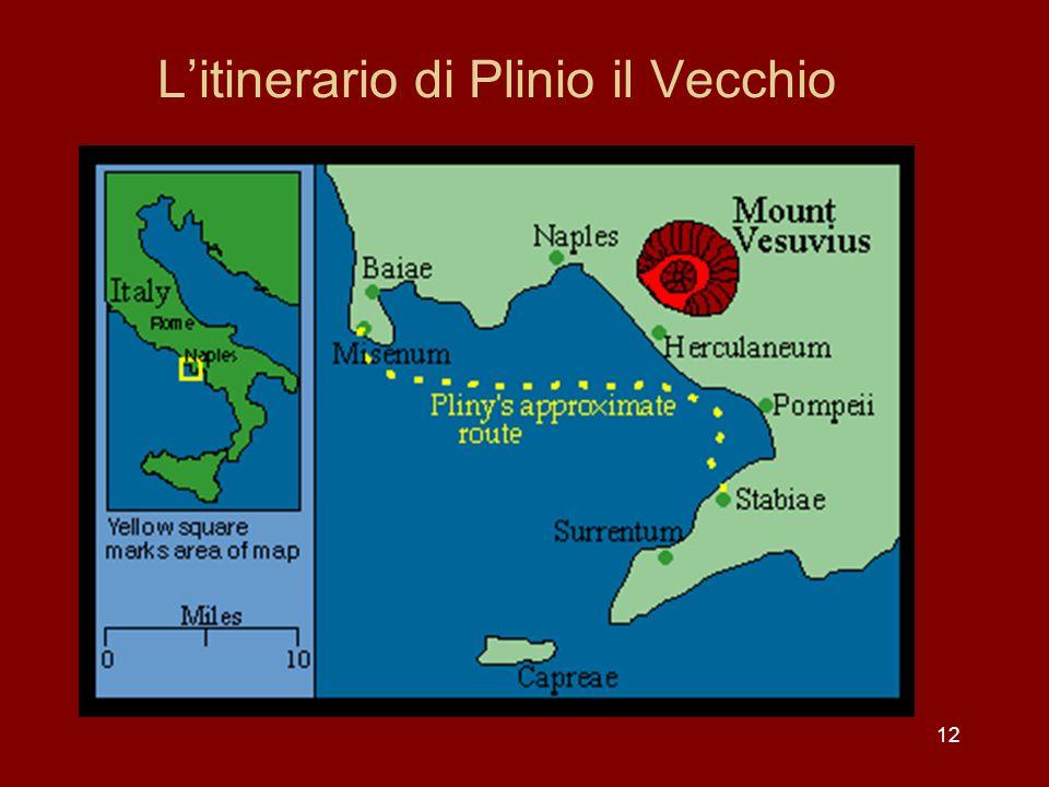 L'itinerario di Plinio il Vecchio