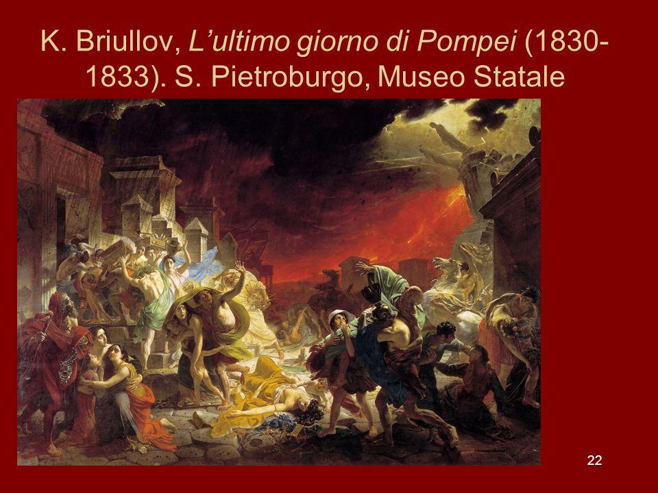 K. Briullov, L'ultimo giorno di Pompei (1830-1833). S