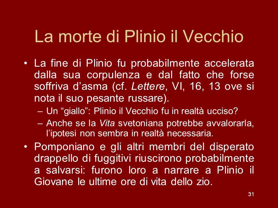 La morte di Plinio il Vecchio