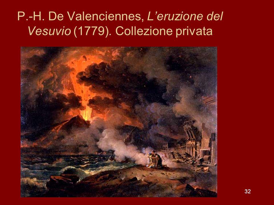 P. -H. De Valenciennes, L'eruzione del Vesuvio (1779)