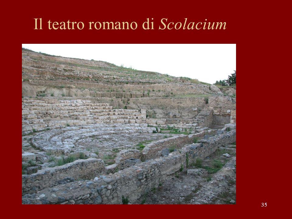 Il teatro romano di Scolacium