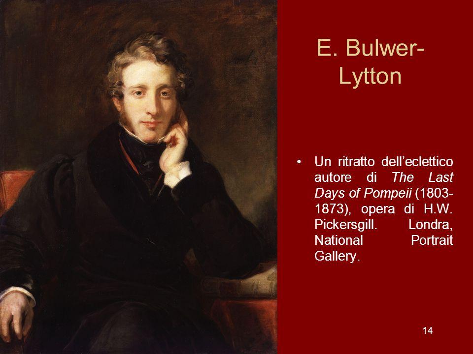 E. Bulwer-Lytton
