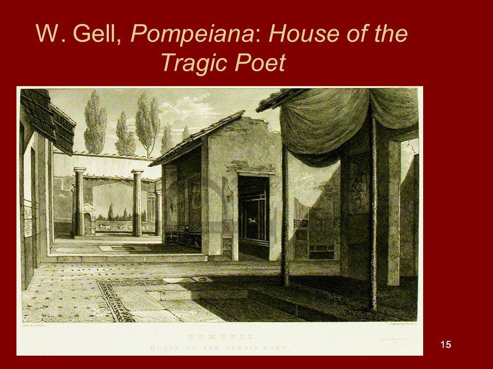 W. Gell, Pompeiana: House of the Tragic Poet