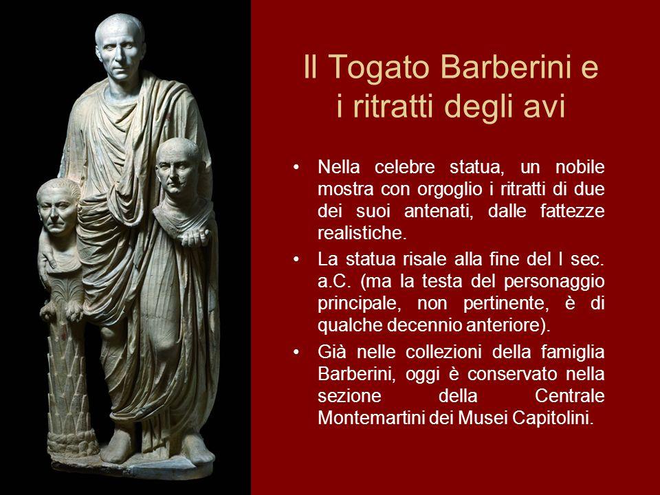 Il Togato Barberini e i ritratti degli avi