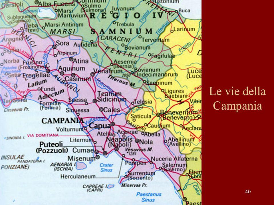 Le vie della Campania
