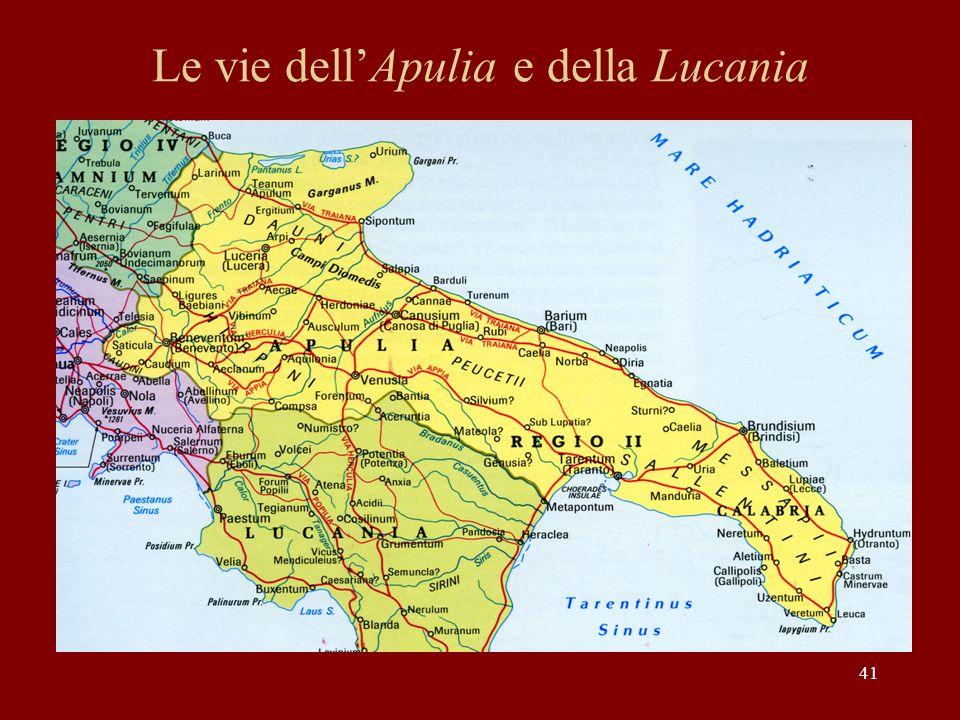Le vie dell'Apulia e della Lucania