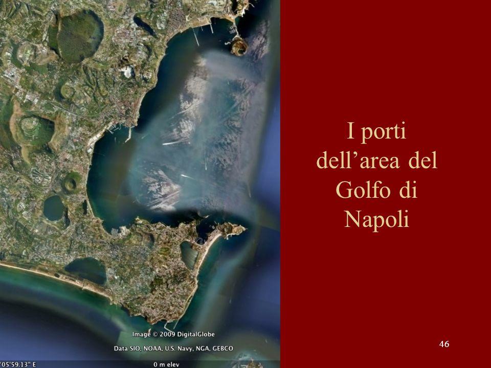 I porti dell'area del Golfo di Napoli