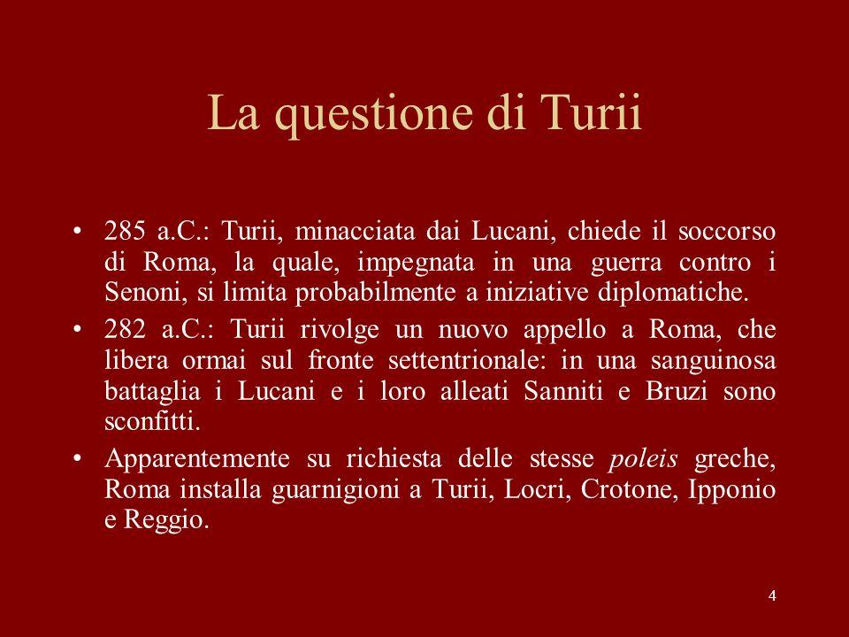 La questione di Turii