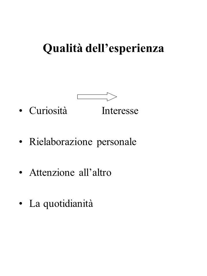 Qualità dell'esperienza