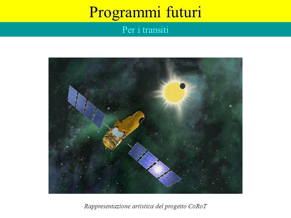 Rappresentazione artistica del progetto CoRoT