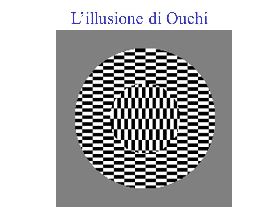 L'illusione di Ouchi