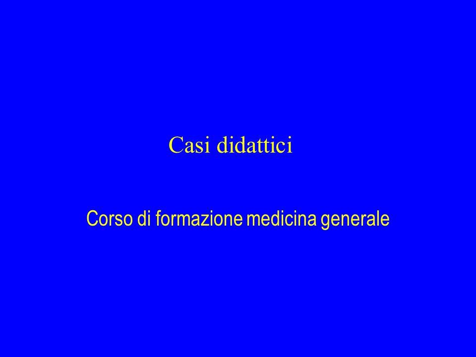 Corso di formazione medicina generale