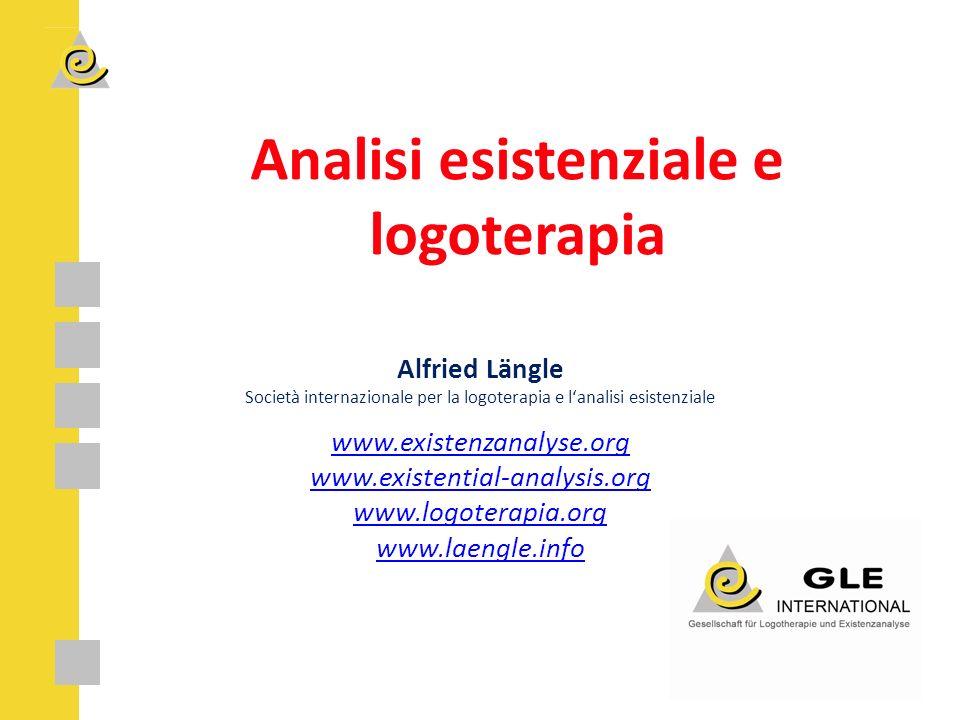 Analisi esistenziale e logoterapia