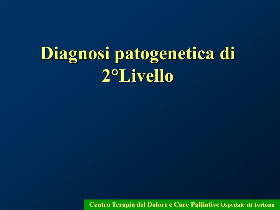 Diagnosi patogenetica di 2°Livello