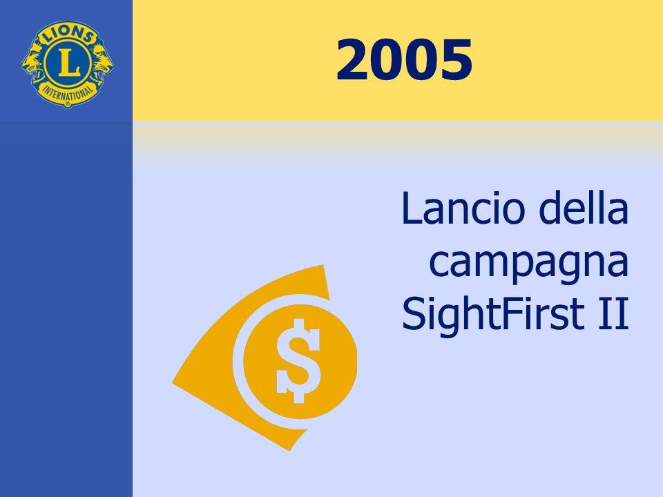 2005 Lancio della campagna SightFirst II