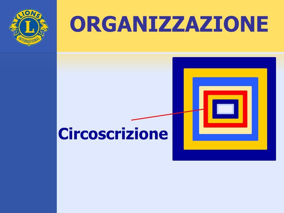 ORGANIZZAZIONE Circoscrizione