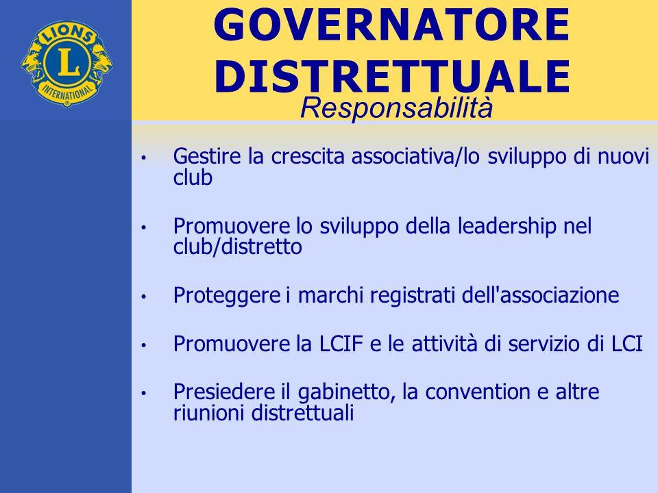 GOVERNATORE DISTRETTUALE