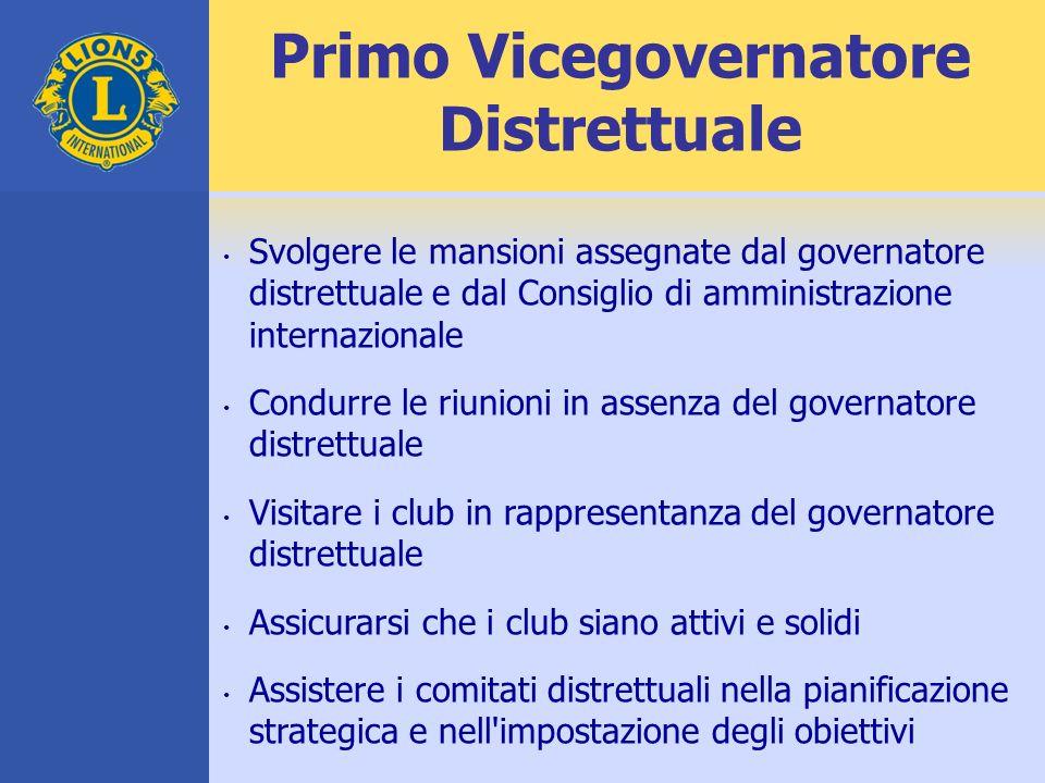 Primo Vicegovernatore Distrettuale