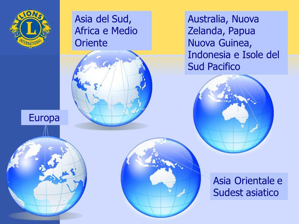 Asia del Sud, Africa e Medio Oriente