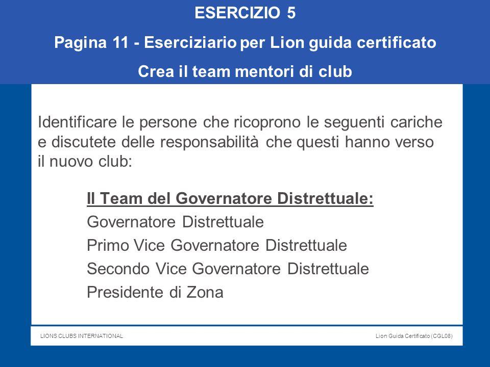 Pagina 11 - Eserciziario per Lion guida certificato