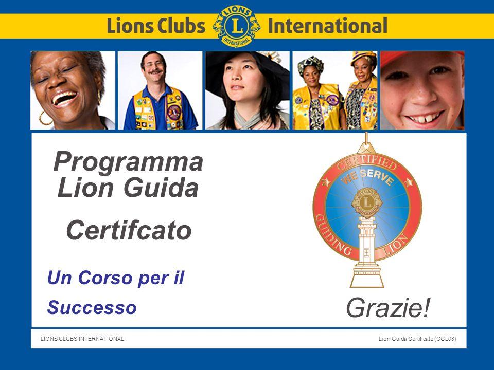 Programma Lion Guida Certifcato