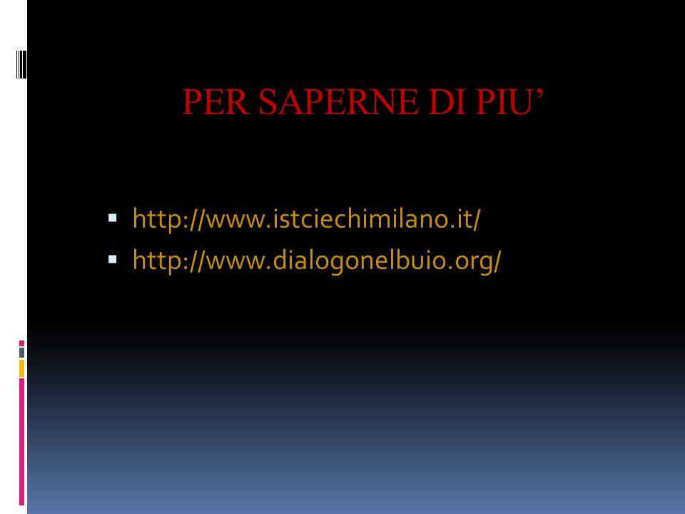 PER SAPERNE DI PIU' http://www.istciechimilano.it/