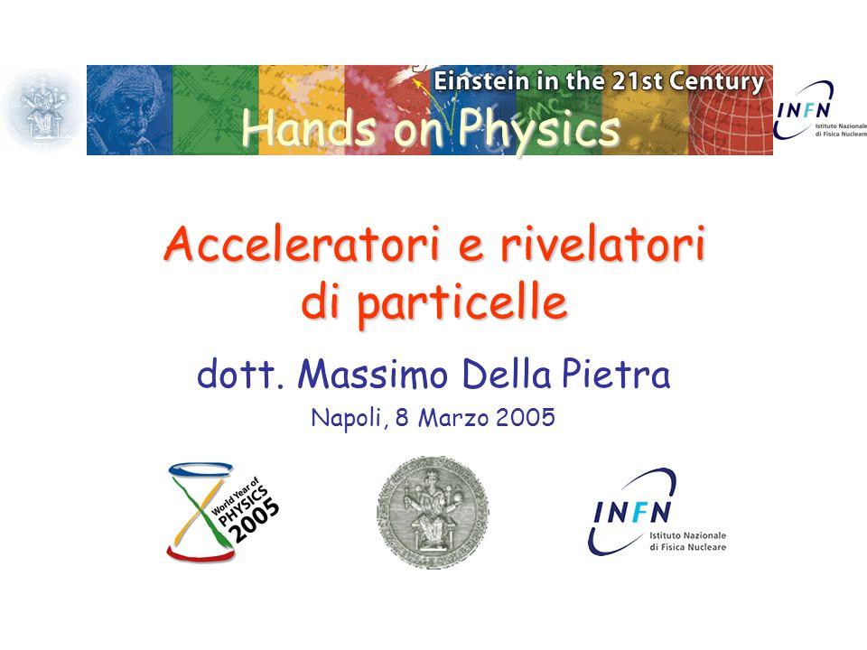 Acceleratori e rivelatori di particelle