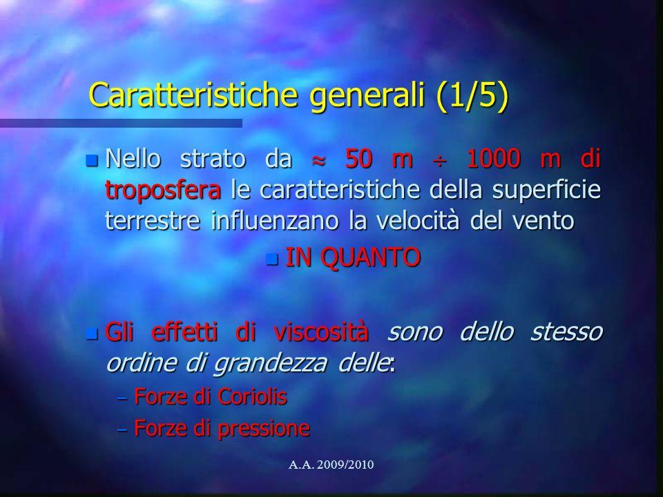 Caratteristiche generali (1/5)