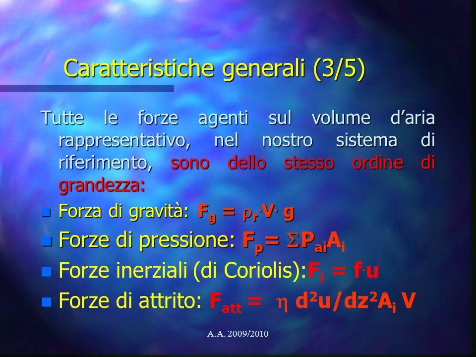 Caratteristiche generali (3/5)
