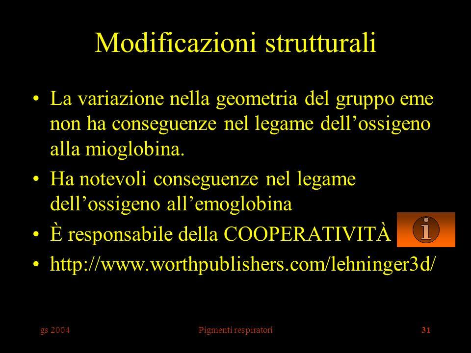 Modificazioni strutturali