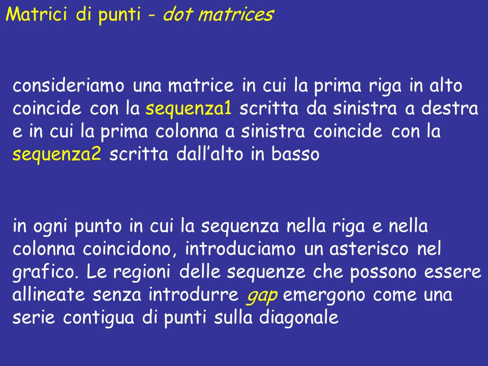 Matrici di punti - dot matrices