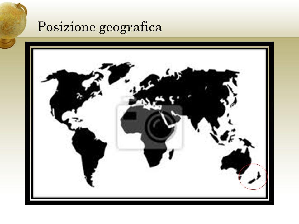 Posizione geografica Inserire una cartina del paese.