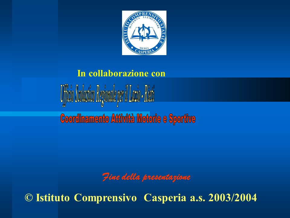 Ufficio Scolastico Regionale per il Lazio - Rieti