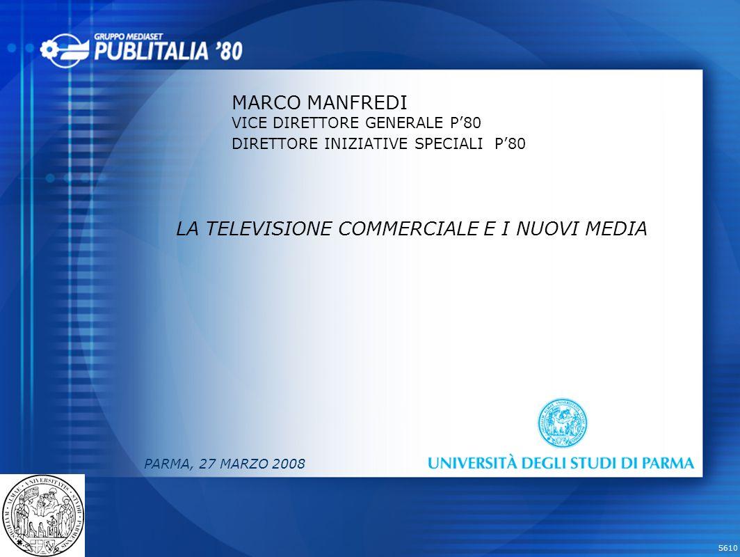 LA TELEVISIONE COMMERCIALE E I NUOVI MEDIA